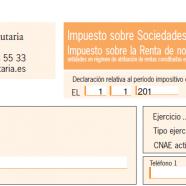Excepción a la presentación de la declaración del Impuesto Sociedades